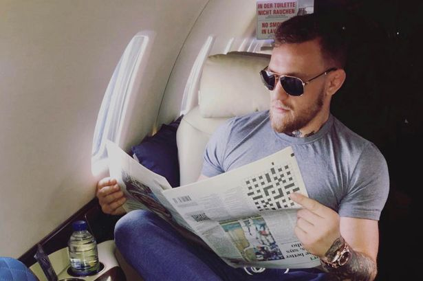A highlight from McGregor's Instagram